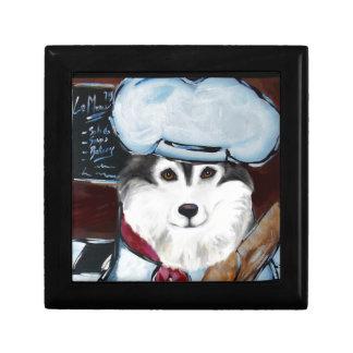 Alaskan Malamute Chef Gift Box