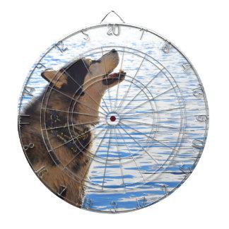 Alaskan Malamute Dartboard