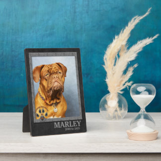 Alaskan Malamute Dog Breed Memorial Plaque