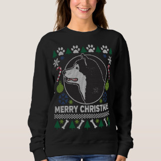 Alaskan Malamute Dog Breed Ugly Christmas Sweater