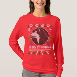 Alaskan Malamute Dog Breed Ugly Christmas Sweater