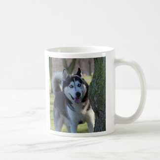 Alaskan Malamute dog I love heart mug, gift Coffee Mug
