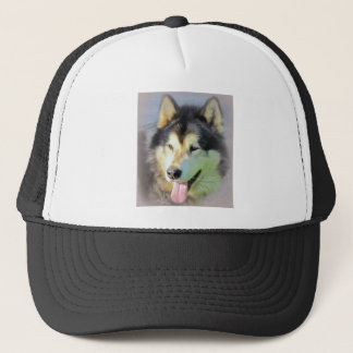 Alaskan Malamute Dog Trucker Hat
