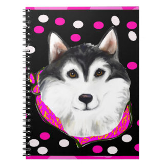 Alaskan Malamute Easter Note Book