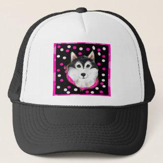 Alaskan Malamute Easter Trucker Hat