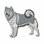 Alaskan Malamute Embroidered Jackets