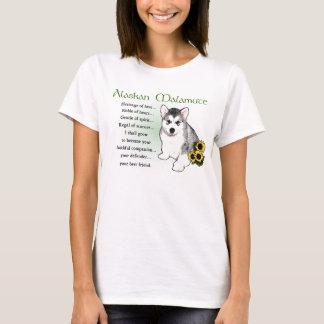 Alaskan Malamute Gifts T-Shirt