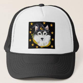 Alaskan Malamute Halloween Trucker Hat