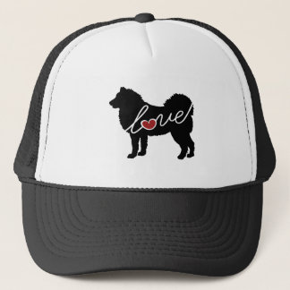 Alaskan Malamute Love Trucker Hat