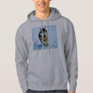 Alaskan Malamute Mens Hoodie