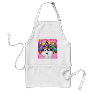 Alaskan Malamute Party Dog Standard Apron
