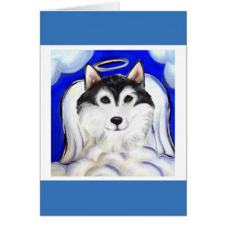 ALASKAN MALAMUTE PET ANGEL CARD