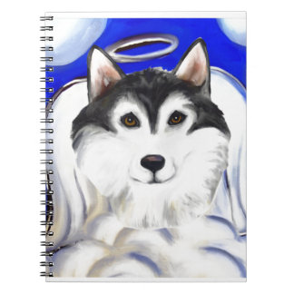 ALASKAN MALAMUTE PET ANGEL NOTEBOOKS