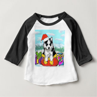 Alaskan Malamute Puppy Baby T-Shirt