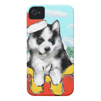 Alaskan Malamute Puppy Case-Mate iPhone 4 Case