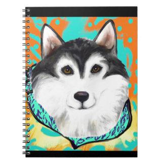 Alaskan Malamute Spiral Notebooks