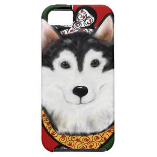Alaskan-Malamute St. Patty iPhone 5 Case