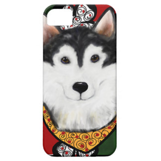 Alaskan-Malamute St. Patty iPhone 5 Case