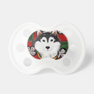Alaskan-Malamute St. Patty Pacifier