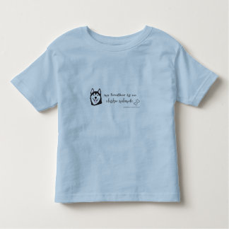 alaskan malamute toddler t-shirt