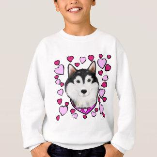 Alaskan-Malamute Valentine Sweatshirt