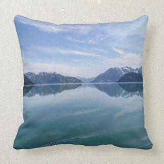 Alaskan Mountain Range Pillow