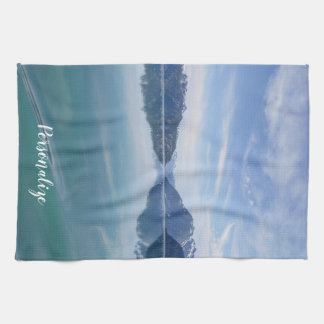 Alaskan Mountain Range Towel
