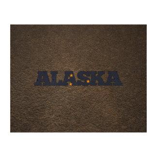 Alaskan name and flag queork photo prints