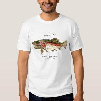 """Alaskan Rainbow Trout"" Art Design from VinnyFish Tee Shirt"