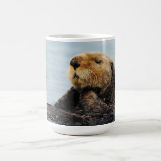 Alaskan Sea Otter Water Bottle Coffee Mug