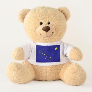 Alaskan State Flag Teddy Bear
