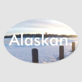 Alaskan. Sticker