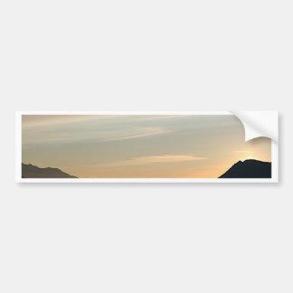 Alaskan Sunset over Turnagain Arm 2 Bumper Sticker
