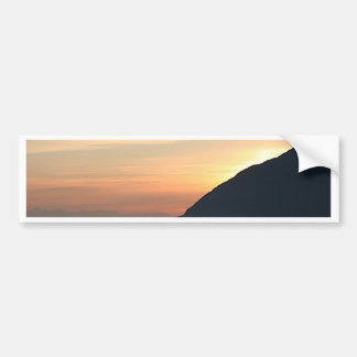Alaskan Sunset over Turnagain Arm Bumper Sticker