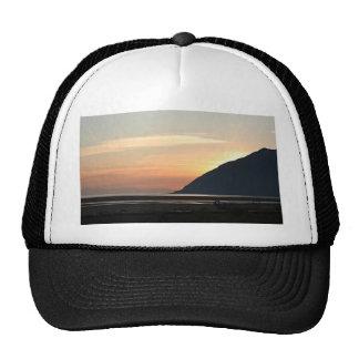 Alaskan Sunset over Turnagain Arm Trucker Hat