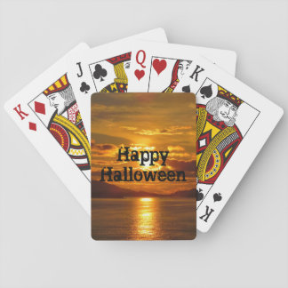 Alaskan Sunset Playing Cards