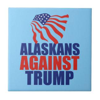 Alaskans Against Trump Ceramic Tiles