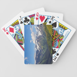Alaska's Chugach Mountain Range Bicycle Playing Cards