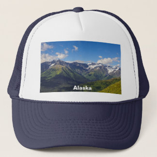 Alaska's Chugach Mountain Range Trucker Hat