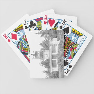 Alaska's Guard Island Light Bicycle Playing Cards