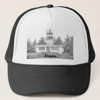 Alaska's Guard Island Light Trucker Hat