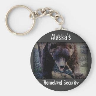 Alaska's Homeland Security Key Chain