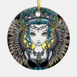 """Alaura"" Gothic Angel Ornament"