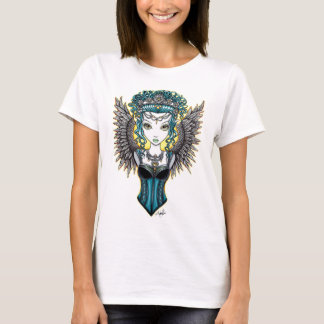 """Alaura"" Gothic Couture Guardian Angel Art Top"