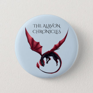 Alavon Dragon Ouroboros 2 1/4 in Round Button