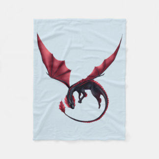 Alavon Dragon Ouroboros Small Blanket