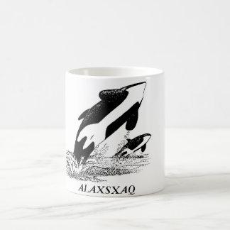 ALAXSXAQ - Coffee Mug - Orca Graphic