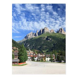 Alba di Canazei, Trentino, Italy Postcard