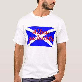 """Alba gu brath"" Basic Men's T-Shirt"