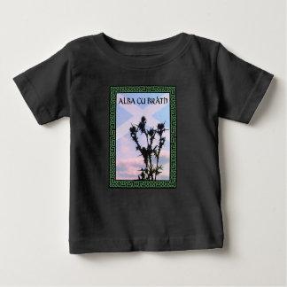 Alba Gu Bràth Scotland Alba Thistle Saltire Celtic Baby T-Shirt